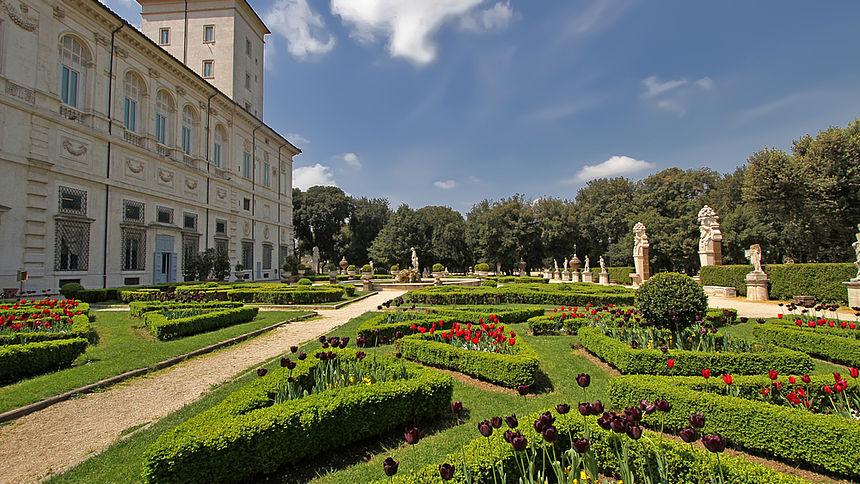Una legge per valorizzare ville e giardini del lazio - Giardini per ville ...