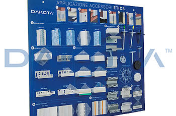 Dakota Group - Dakota - EQUIPMENT - ESPOSITORE SISTEMA A SECCO