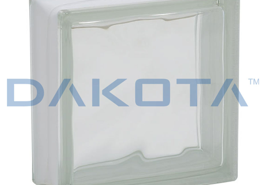 Dakota Group - Dakota - VETRO MATTONE ONDULATO, COLORATO E SATINATO