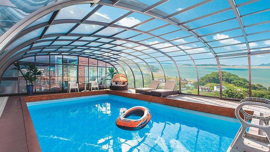 Coperture Mobili Per Piscina : I migliori modelli di coperture telescopiche per piscine