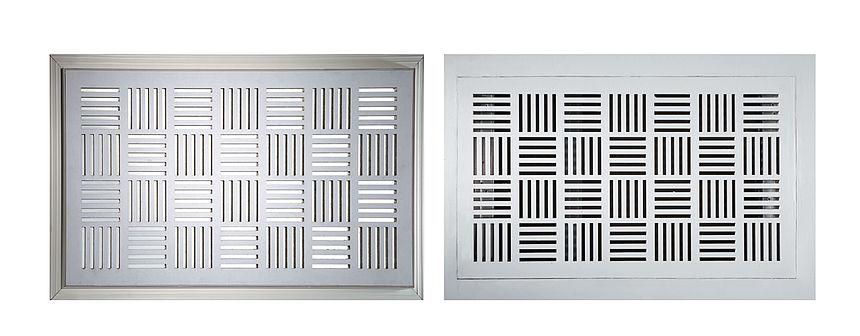 Il soffitto di design con i nuovi accessori per controsoffitti rehau guidaedilizia - Griglie di aerazione design ...