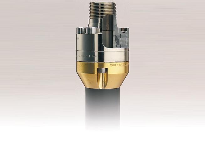 Brugg Pipe - particolare raccordo terminale tubazione FLEXWELL LPG