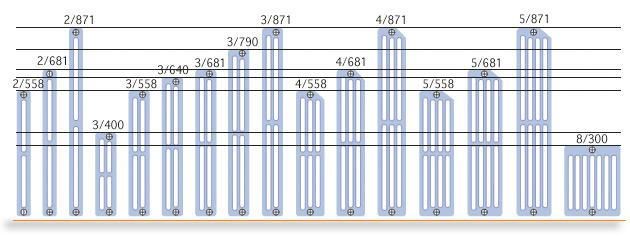 Ideal clima radiatori in ghisa prodotto guida edilizia for Ideal clima radiatori ghisa