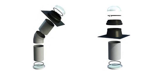 Sistemi cover srl lightway prodotto guida edilizia for Lucernario elettrico
