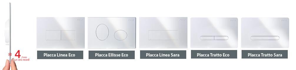 Guidaprodotti placche per cassette di for Cassetta wc esterna sottile
