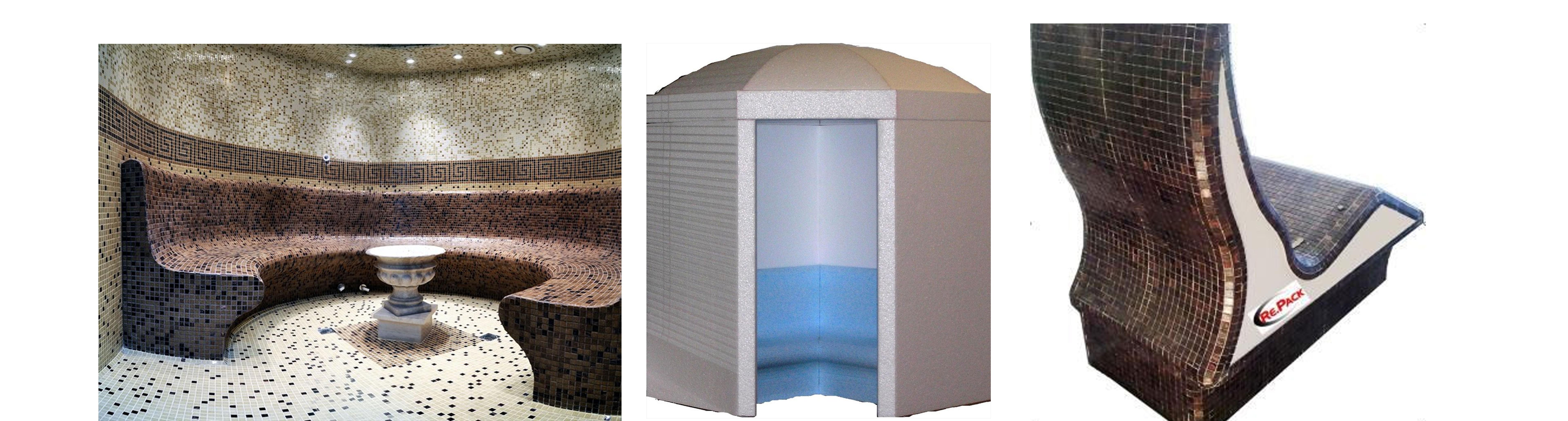 Re pack bagno turco prodotto guida edilizia - Realizzazione bagno turco ...
